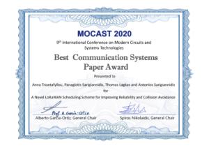 sidroco_best_paper_award_mocast_2020